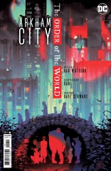 ARKHAM CITY ORDER OF THE WORLD#1 (OF 6) CVR A CONNELLY