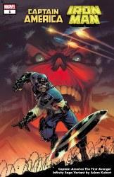 CAPTAIN AMERICA IRON MAN #1 (OF 5) CLARKE INFINITY SAGA VAR