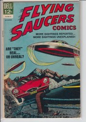 FLYING SAUCERS (DELL) #4 VG+