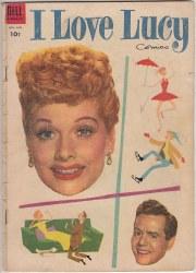 I LOVE LUCY COMICS #04 VG-
