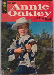 ANNIE OAKLEY AND TAGG (GOLD KEY) #1 VG
