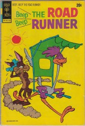 BEEP BEEP, THE ROAD RUNNER (GOLD KEY) #36 VG-