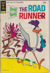 BEEP BEEP, THE ROAD RUNNER (GOLD KEY) #38 VG