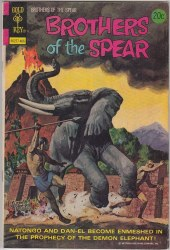 BROTHERS OF THE SPEAR #9 VF-