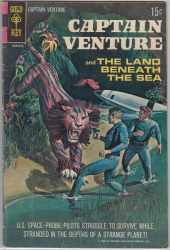 CAPTAIN VENTURE AND THE LAND BENEATH THE SEA #1 FN-