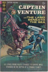 CAPTAIN VENTURE AND THE LAND BENEATH THE SEA #1 VF-