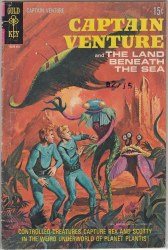 CAPTAIN VENTURE AND THE LAND BENEATH THE SEA #2 VG+