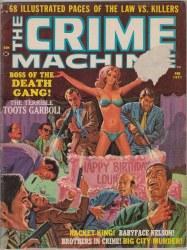 CRIME MACHINE #1 VG-