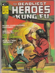 DEADLIEST HEROES OF KUNG FU, THE #1 VF-