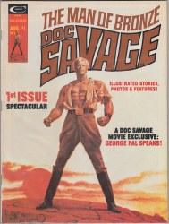 DOC SAVAGE (MARVEL MAGAZINE) #1 VF