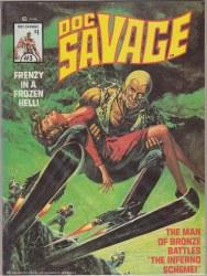 DOC SAVAGE (MARVEL MAGAZINE) #3 VF