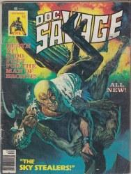DOC SAVAGE (MARVEL MAGAZINE) #6 VG