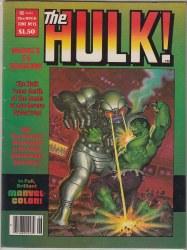 HULK, THE (MAGAZINE) #15 VF+