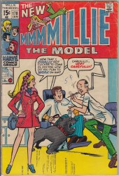 MILLIE THE MODEL COMICS #178 GD+