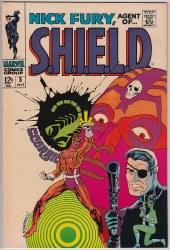 NICK FURY, AGENT OF SHIELD (1968) #05 VF