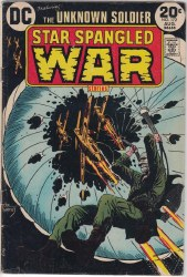 STAR SPANGLED WAR STORIES #172 VG