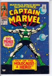 CAPTAIN MARVEL (1968) #01 VF