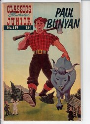 CLASSICS ILLUSTRATED JUNIOR #519-8 FN+