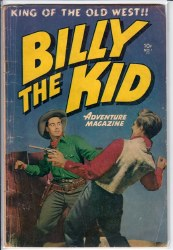 BILLY THE KID ADVENTURE MAGAZINE #1 VG-