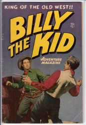 BILLY THE KID ADVENTURE MAGAZINE #1 VG+