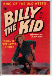 BILLY THE KID ADVENTURE MAGAZINE #2 VG