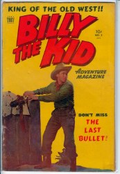 BILLY THE KID ADVENTURE MAGAZINE #3 FN