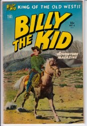 BILLY THE KID ADVENTURE MAGAZINE #4 FN+