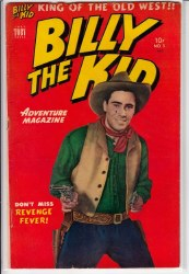 BILLY THE KID ADVENTURE MAGAZINE #5 FN