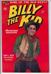 BILLY THE KID ADVENTURE MAGAZINE #5 VG