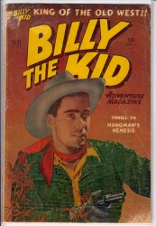 BILLY THE KID ADVENTURE MAGAZINE #7 VG-