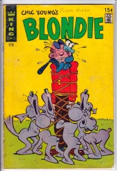 BLONDIE COMICS #175 GD+