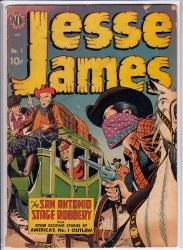 JESSE JAMES (1950) #1 VG