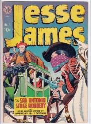 JESSE JAMES (1950) #1 VG+