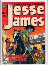 JESSE JAMES (1950) #2 VF-