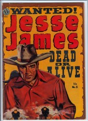 JESSE JAMES (1950) #6 GD/VG