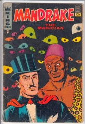 MANDRAKE THE MAGICIAN (1966) #8 GD+