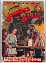 PICTURE STORIES FROM THE BIBLE (NEW TESTAMENT) #1 GD+