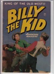 BILLY THE KID ADVENTURE MAGAZINE #1 VG