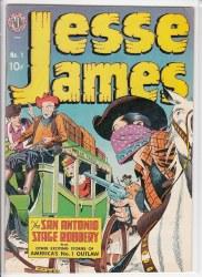 JESSE JAMES (1950) #1 VG/FN