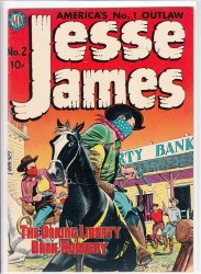 JESSE JAMES (1950) #2 VF