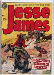 JESSE JAMES (1950) #3 VG