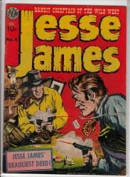 JESSE JAMES (1950) #4 VG+