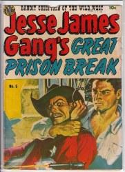 JESSE JAMES (1950) #5 GD-