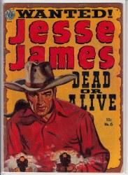 JESSE JAMES (1950) #6 GD