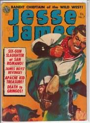 JESSE JAMES (1950) #7 GD+