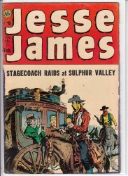 JESSE JAMES (1950) #21 GD+