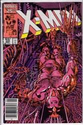 UNCANNY X-MEN (1981) #205 FN+