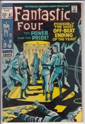 FANTASTIC FOUR (1961) #087 VG