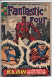 FANTASTIC FOUR (1961) #56 VG+