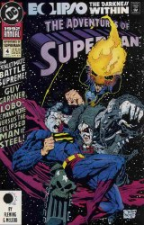 ADVENTURES OF SUPERMAN ANNUAL #4 NM-